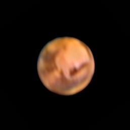 Notre voisine Mars prise par mon père et moi le dans les alentours du 12 juin 2016 (article https://astroslacholet.wordpress.com/2016/06/12/mars-attacks-version-2016/ )